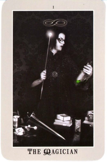 1themagiciansilverera The Magician tarot card