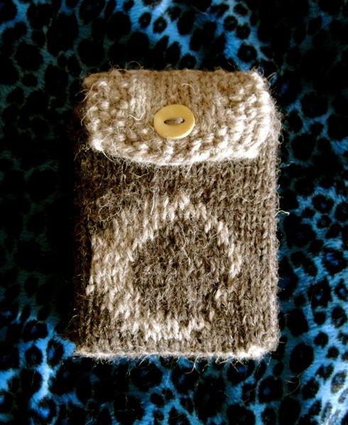 Knitted tarot bag anna k