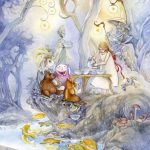 Six of cups tarot card shadowscapes tarot