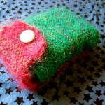 Knitted tarot bag
