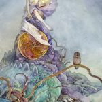 Page of Pentacles shadowscapes tarot