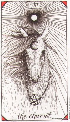 The Chariot Wild Unknown tarot card