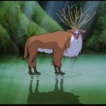 Stag Wildwood Tarot Forest Spirit Princess Mononoke