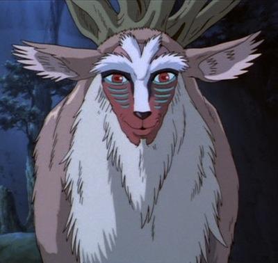 Forest Spirit Princess Mononoke The Stag Wildwood Tarot
