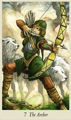 The Archer Wildwood Tarot