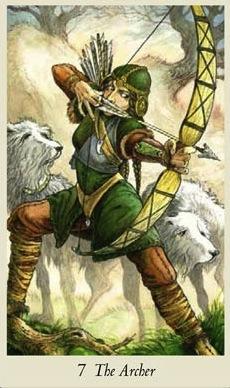The Archer Wildwood Tarot
