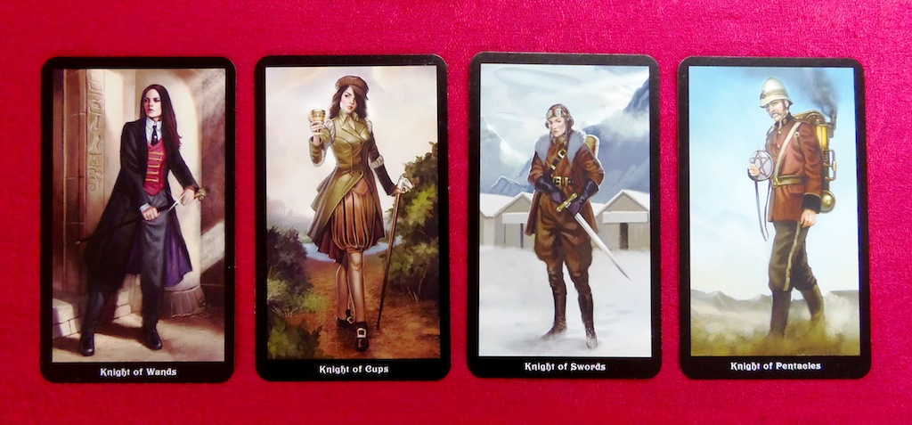 Steampunk Tarot Knights