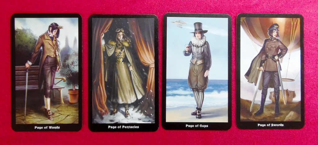 Steampunk Tarot Pages