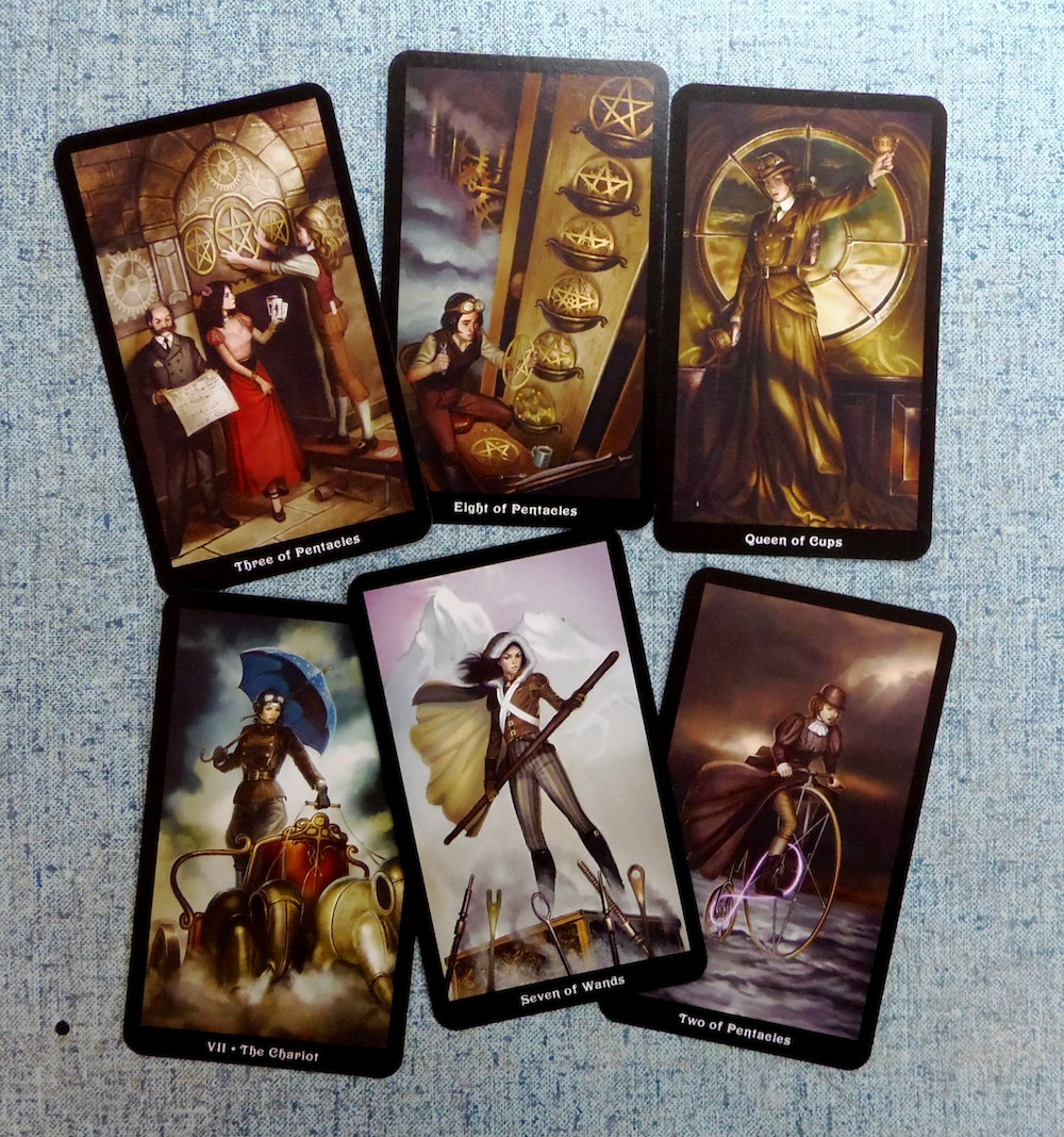 Queer Steampunk Tarot cards