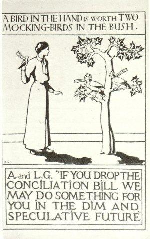 Pamela-colman-smith-Suffrage-Poster