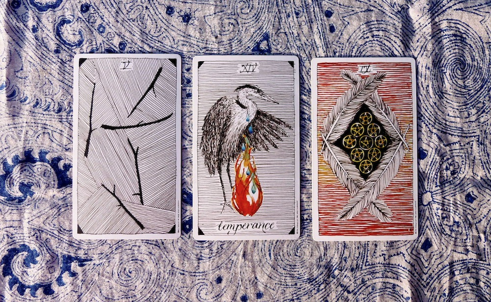 Create your own tarot spread