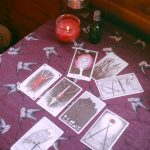 Thanksgiving Christmas tarot spread