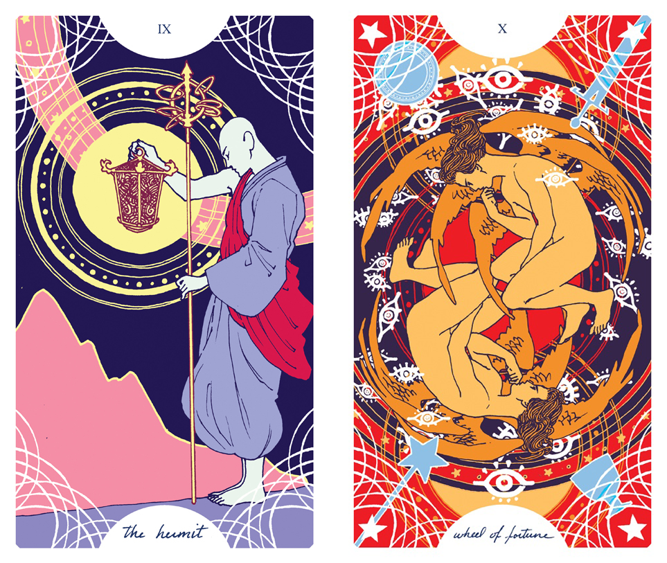 Trung-Nguyen-Hermit-Wheel-of-Fortune-Tarot-Cards