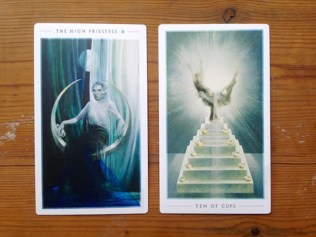 high-priestess-fountain-tarot-ten-cups