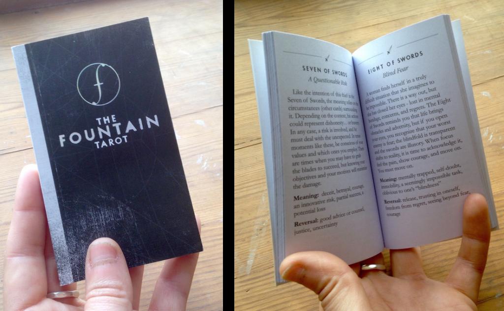 fountain tarot book