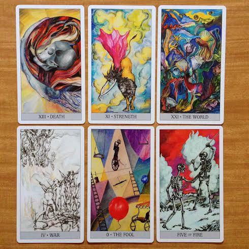 japaridze tarot cards