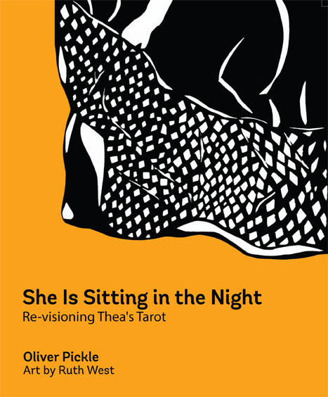 She Is Sitting in the Night - front cover