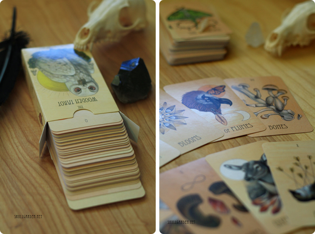 the wooden tarot