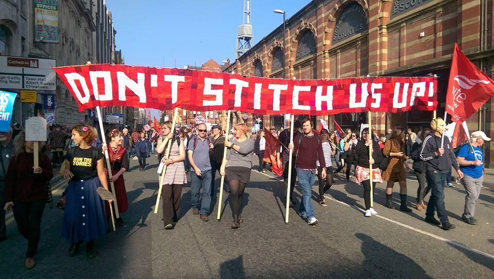 banner march