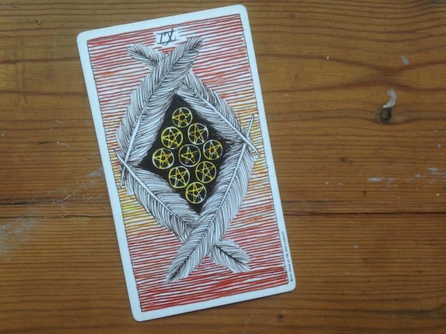 nine of pentacles wild unknown tarot