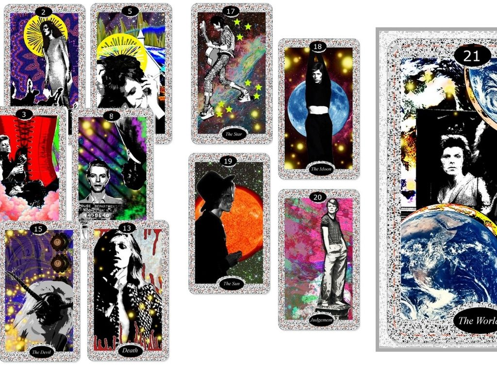 the david bowie tarot by jessica de felice
