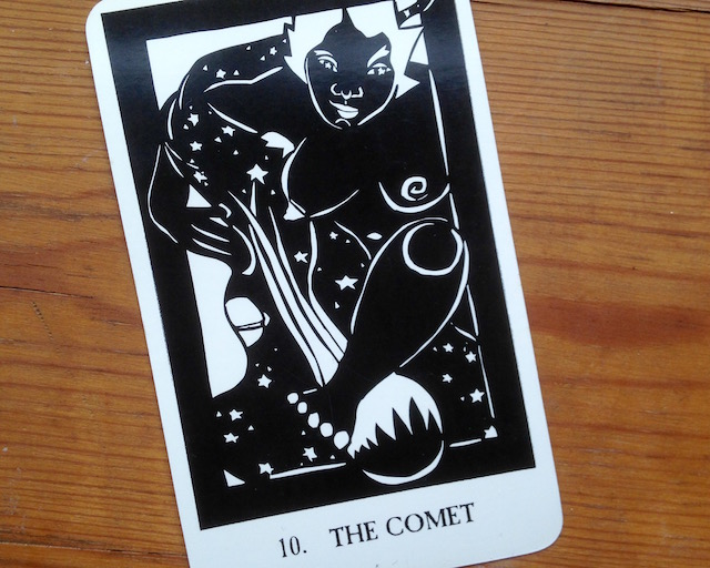 the comet theas tarot
