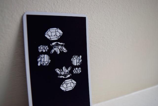 eight of pentacles nomad tarot