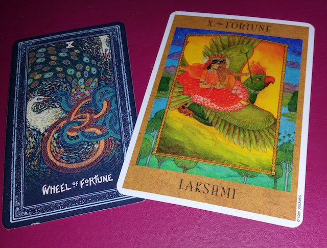 Prisma Visions and Goddess Tarot