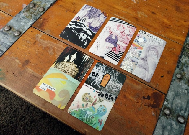 Make Your Own Collage Oracle Or Tarot Deck The Little