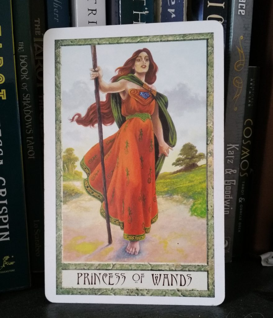 Queering the Tarot: Page of Wands   The Little Red Tarot Blog