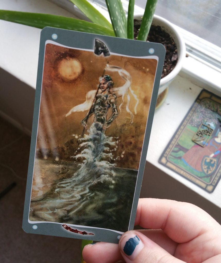 Queering the Tarot: Page of Wands | The Little Red Tarot Blog