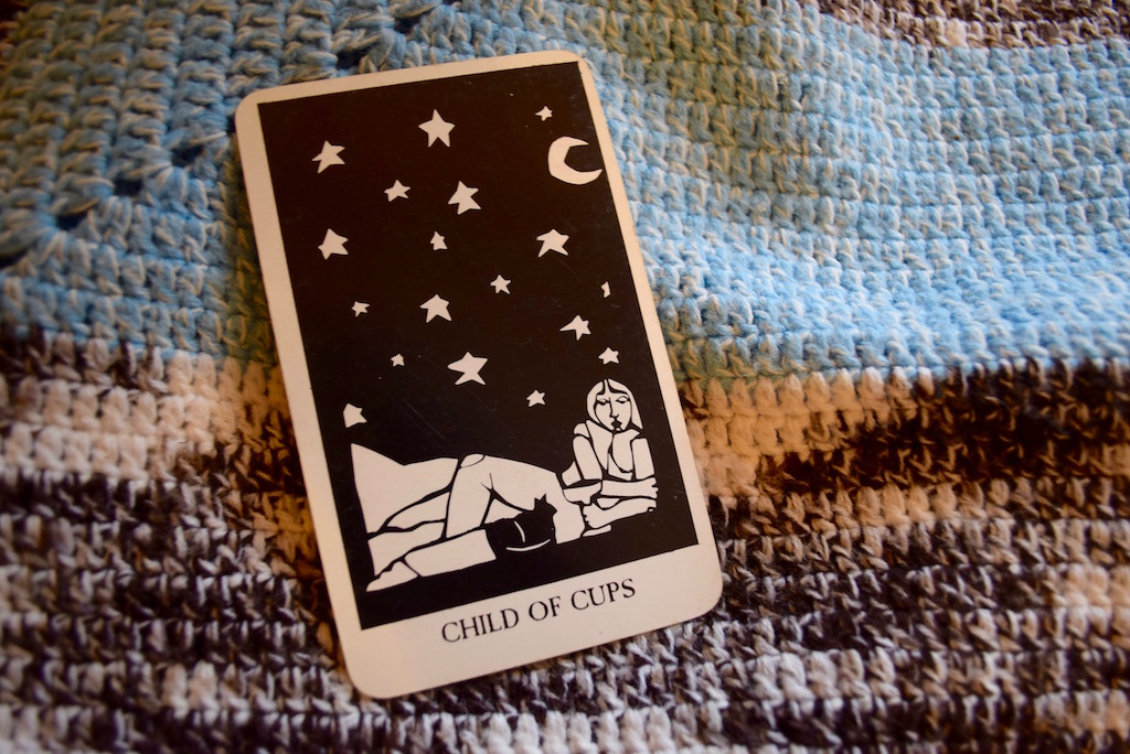 Vulnerability, fear, and the Page of Cups | The Little Red