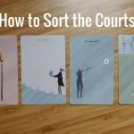 sorting court cards