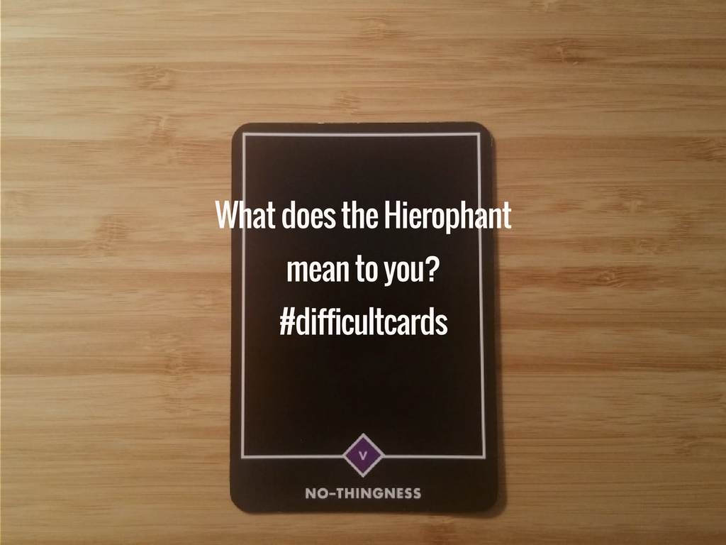 difficult tarot