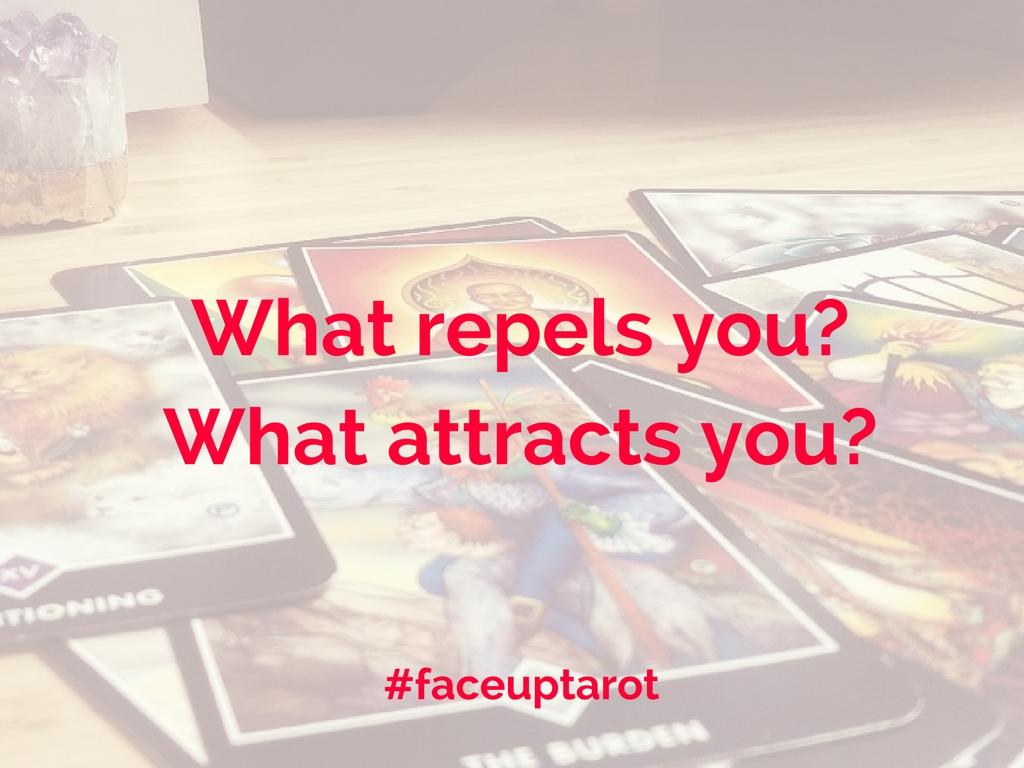 face up tarot spread