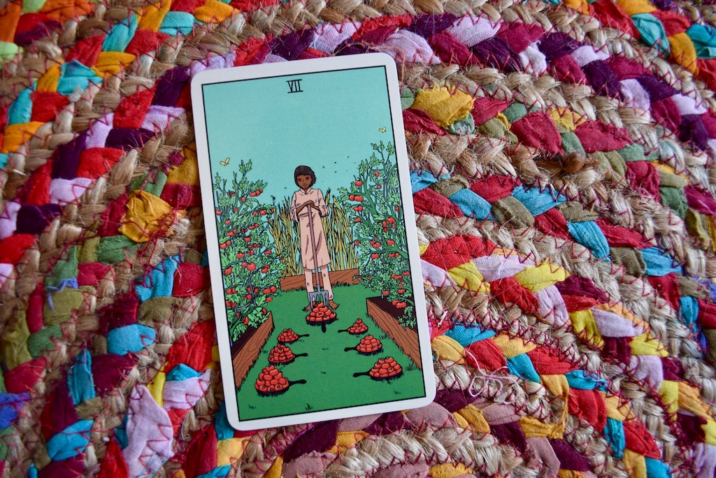 The Seven of Pentacles is an invitation to integrate | The