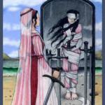 Eight of Swords, Anna K Tarot, Anna Klaffinger