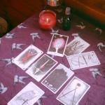 Thanksgiving Christmas tarot spread